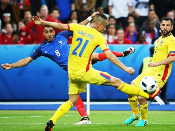 France vs Romania euro 2016